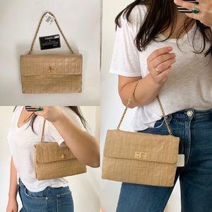 🌻BEAUTIFUL 🌻Chanel Beige  Lambskin 2.55 Bag